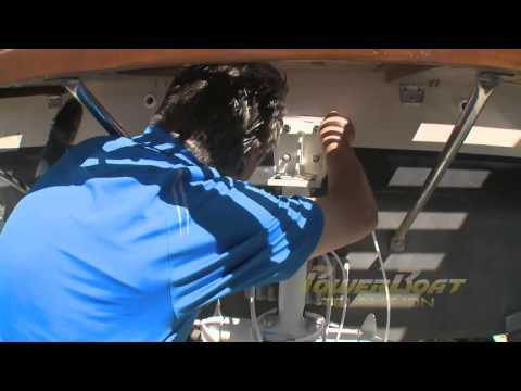 How To Install A Stern Thruster - PowerBoat TV