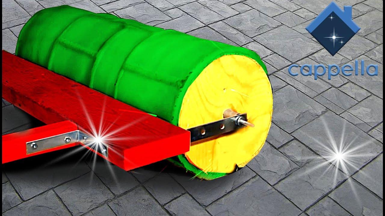 Валик для печатного бетона купить усиление бетона пропиткой