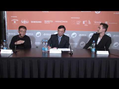 A Quiet Dream press conference at Tallinn Black Nights Film Festival
