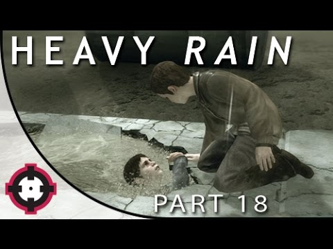 Heavy Rain Blind Let's Play Gameplay PS4 // Part 18 - John Shepherd's Death! (w/a Special Guest!)