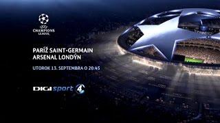 PSG - ARSENAL na DIGI Sport