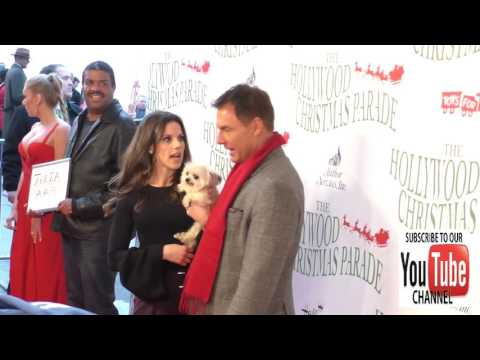 Mark Steines and Julie Freyermuth at the 85th Annual Hollywood Christmas Parade in Hollywood