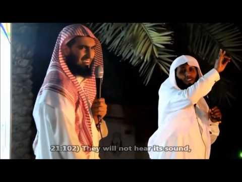 Al-Jannah: Sheikh Mansour As-Salami and Sheikh Abdullah (English Subs) Powerful
