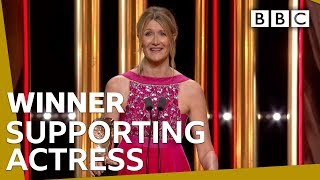 Laura Dern wins Supporting Actress BAFTA 2020 🏆 - BBC