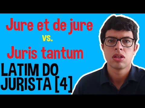 Latim do Jurista [4] -  Jure et de jure x Juris tantum | Blog Ronaldo Bastos [45]