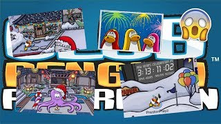 Ninja Hideout Released!! + New Years Mini Event!! (Club Penguin Rewritten)