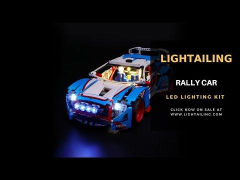 Lightailing Light Kit For Lego Technic Rally Car 42077