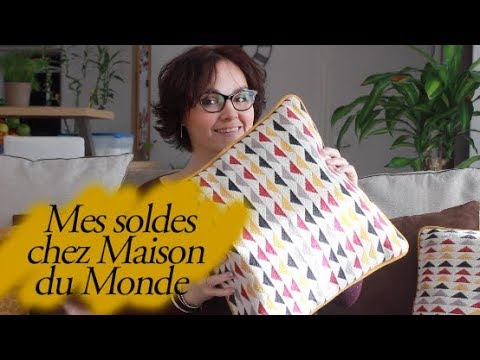 haul mes soldes chez maison du monde youtube. Black Bedroom Furniture Sets. Home Design Ideas