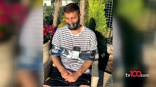 Ebru Şancı kocasını bantladı