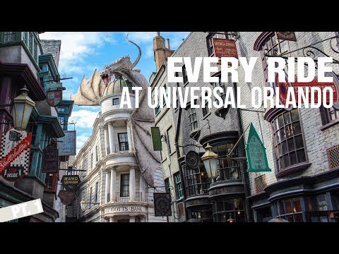Riding EVERY Ride At Universal Studios In One Day!! [Pt.1]