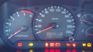 Hyundai Accent CRDİ 2006 -10°C Cold Morning Engine Start
