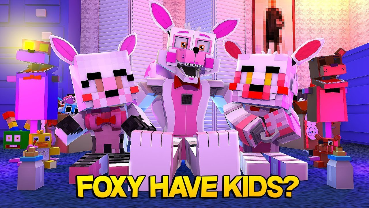 Minecraft Fnaf: Funtime Foxy Has Kids (Minecraft Roleplay