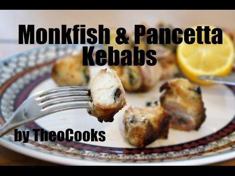 Souvlaki - Fish Souvlaki (BBQ Monkfish Kebabs) By Theo Michaels