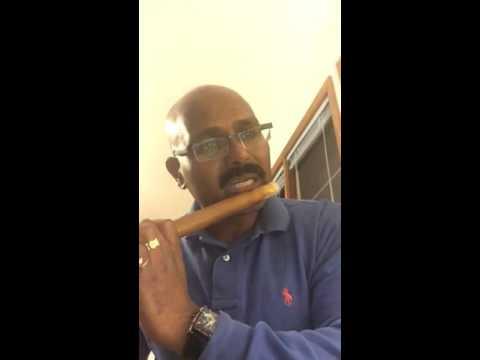 1st attempt at vande maataram in karnatic flute. Notes by sri harsha