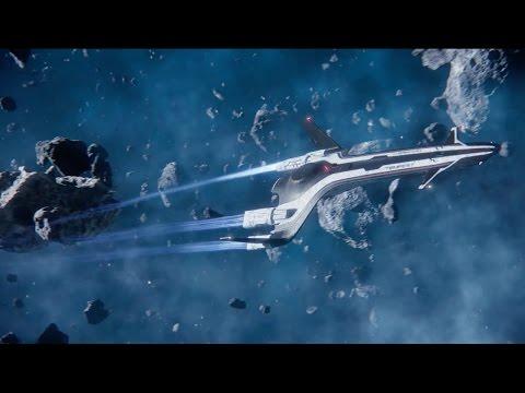 Две минуты геймплея Mass Effect: Andromeda — CES 2017