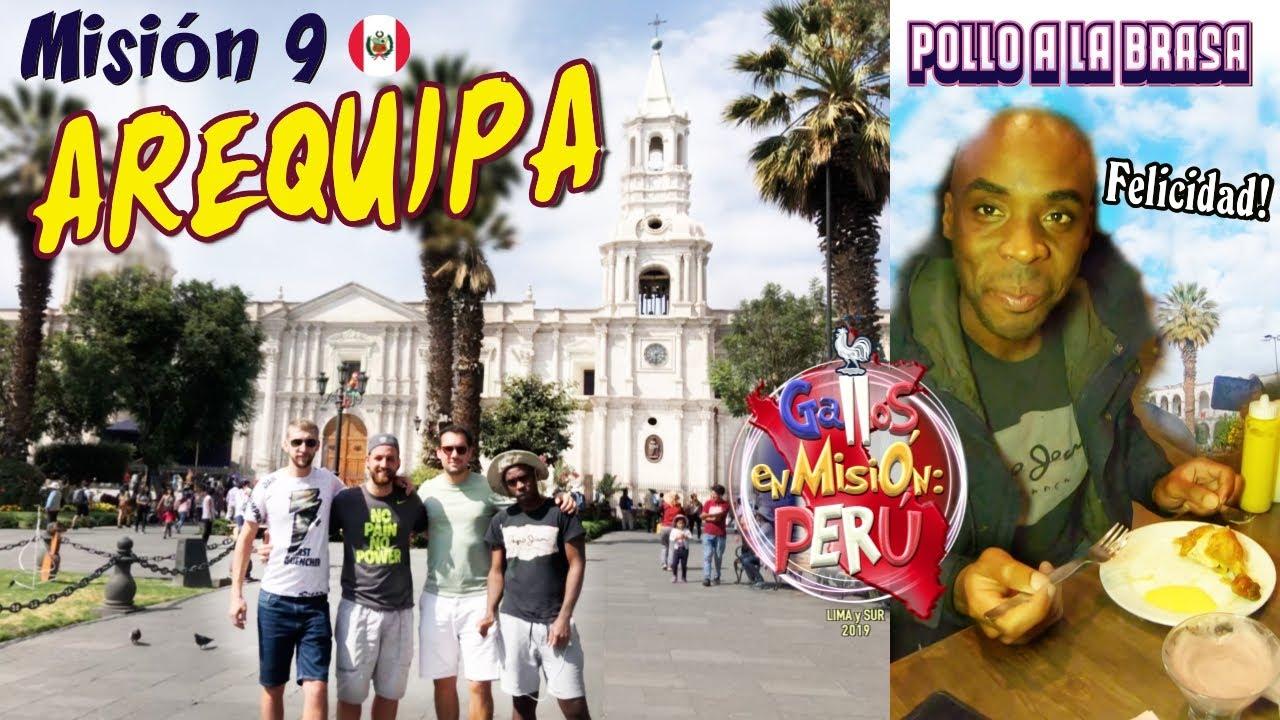 🇵🇪#9 PRIMER día en AREQUIPA, PRIMERA VEZ probando POLLO A LA BRASA 🇫🇷 | Travel | Perú
