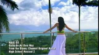 gotta go my own way - nikki gil (Asian Version)