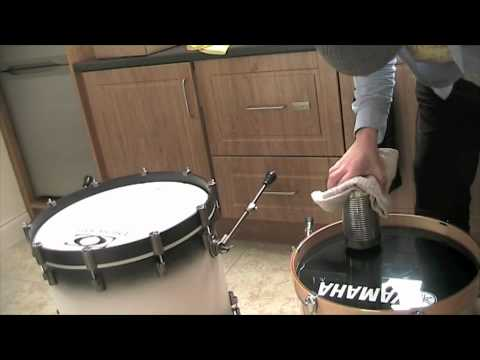 how to make a hole for bass drum youtube. Black Bedroom Furniture Sets. Home Design Ideas