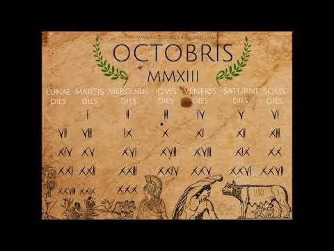 Calendario romano - YouTube