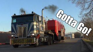 Getting Started Hauling An Oshkosh Striker Fire Truck