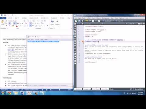 Convert Word to LaTeX Easy Way