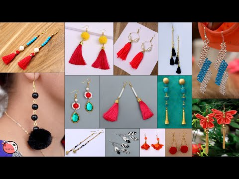 Fancy Girls! Daily Wear Looking Beautiful - 15 DIY Earrings