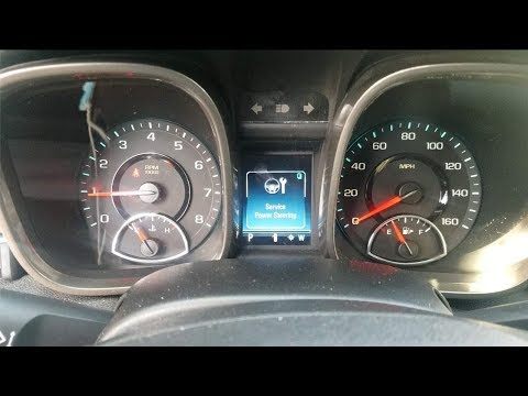 Chevy Malibu Weak Crank, Service Stabilitrak, Service Power Steering Fix (How To Test A Battery)