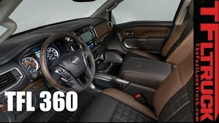 2016 Nissan Titan XD: Virtual Reality TFL360 Tour
