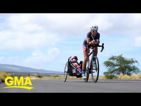 The Wake Up Show - Ironmom Completes Triathlon With Special Needs Daughter!