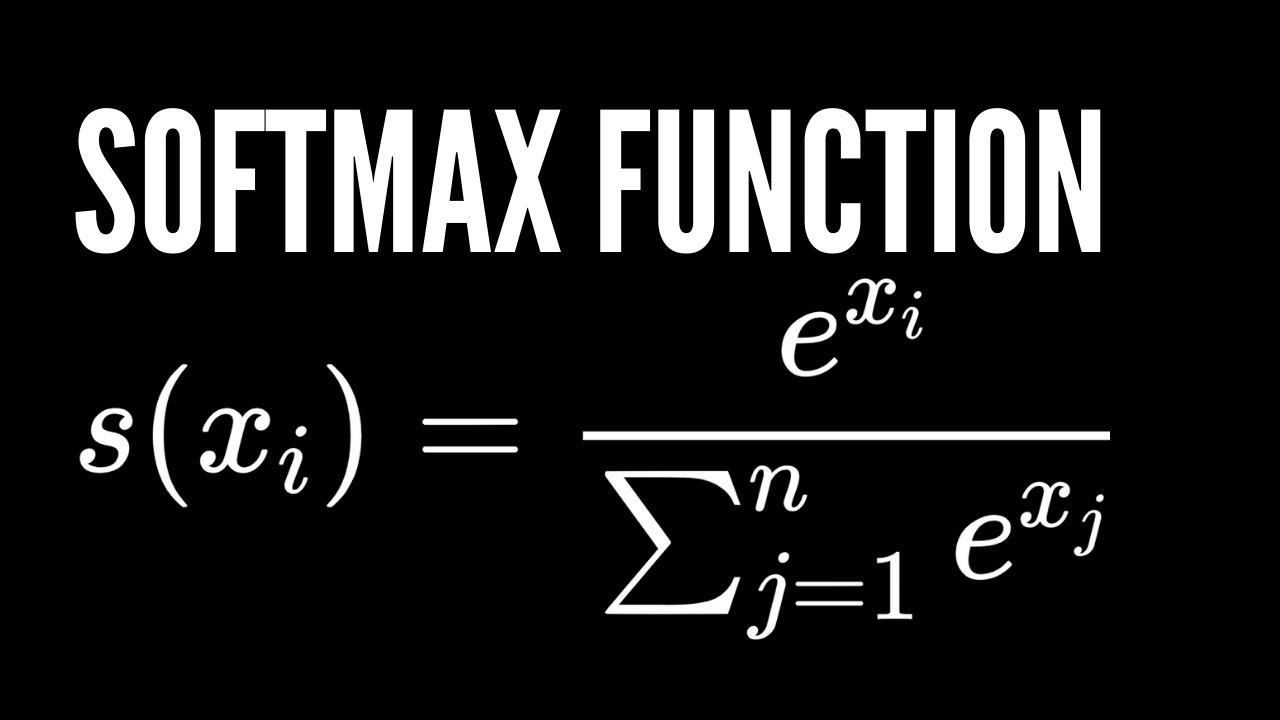 Softmax Function in Deep Learning