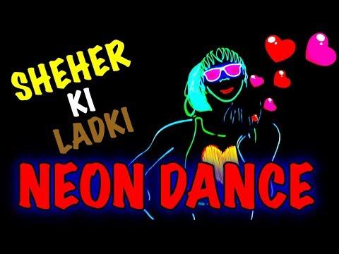 Download Lagu  Sheher Ki Ladki Mix | Neon Dance Cover | Badshah | Skeleton Dance Crew Mp3 Free