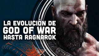 GOD OF WAR: Así ha EVOLUCIONADO GRÁFICAMENTE hasta RAGNAROK #Shorts