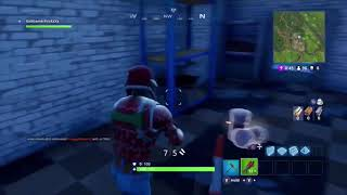 Potential hacker on Fortnite / Guy goes invisible