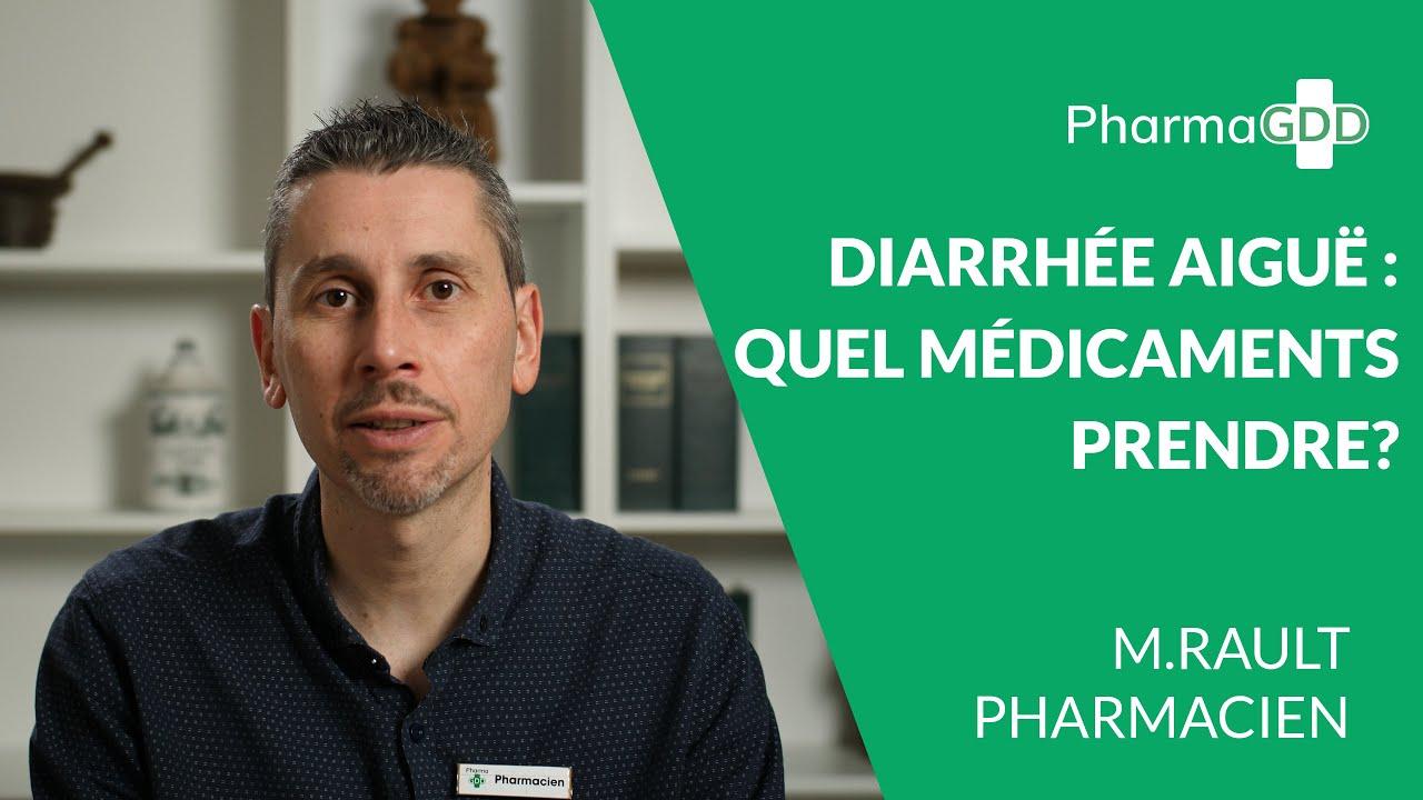 Diarrhée : médicament antidiarrhéique sans ordonnance