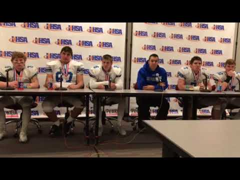 7A State Title Lake Zurich Press Conference