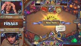 [Hearthstone]Orange : My Only Way To Burn