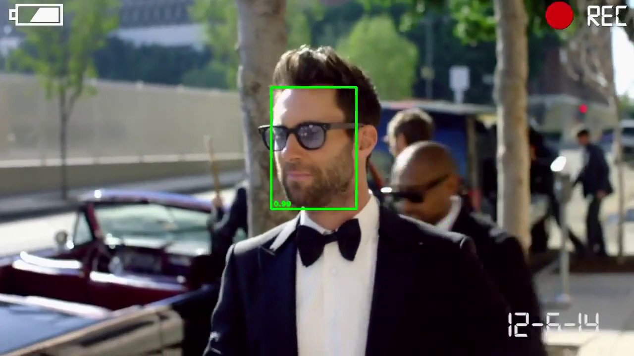 Face detection with MTCNN