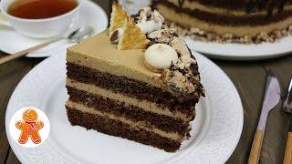Шоколадно-кофейный торт ✧ Chocolate Coffee Cake (English Subtitles)