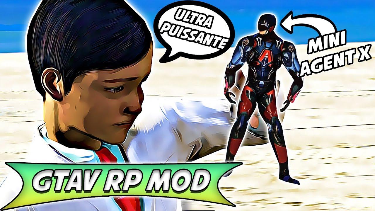 Download UN GAMIN DE 8 ANS CRÉE UN MINI ROBOT POUR SAUVER AGENT X ! GTAV RP MOD #4 - SAISON 2