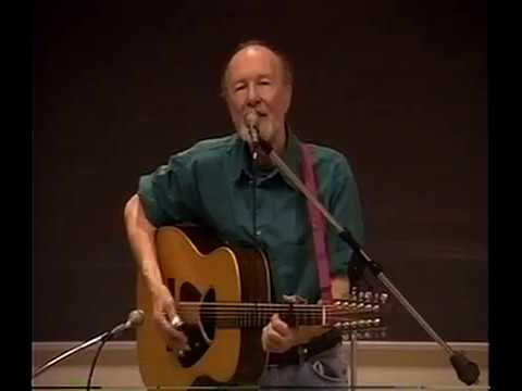 Watch Pete Seeger Perform at John Jay College -1996