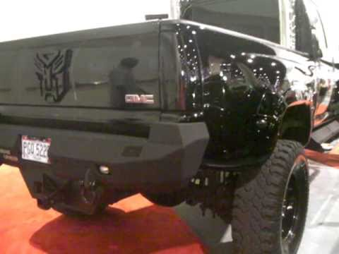 Transformers Truck Gmc 6500 And Green Hummer
