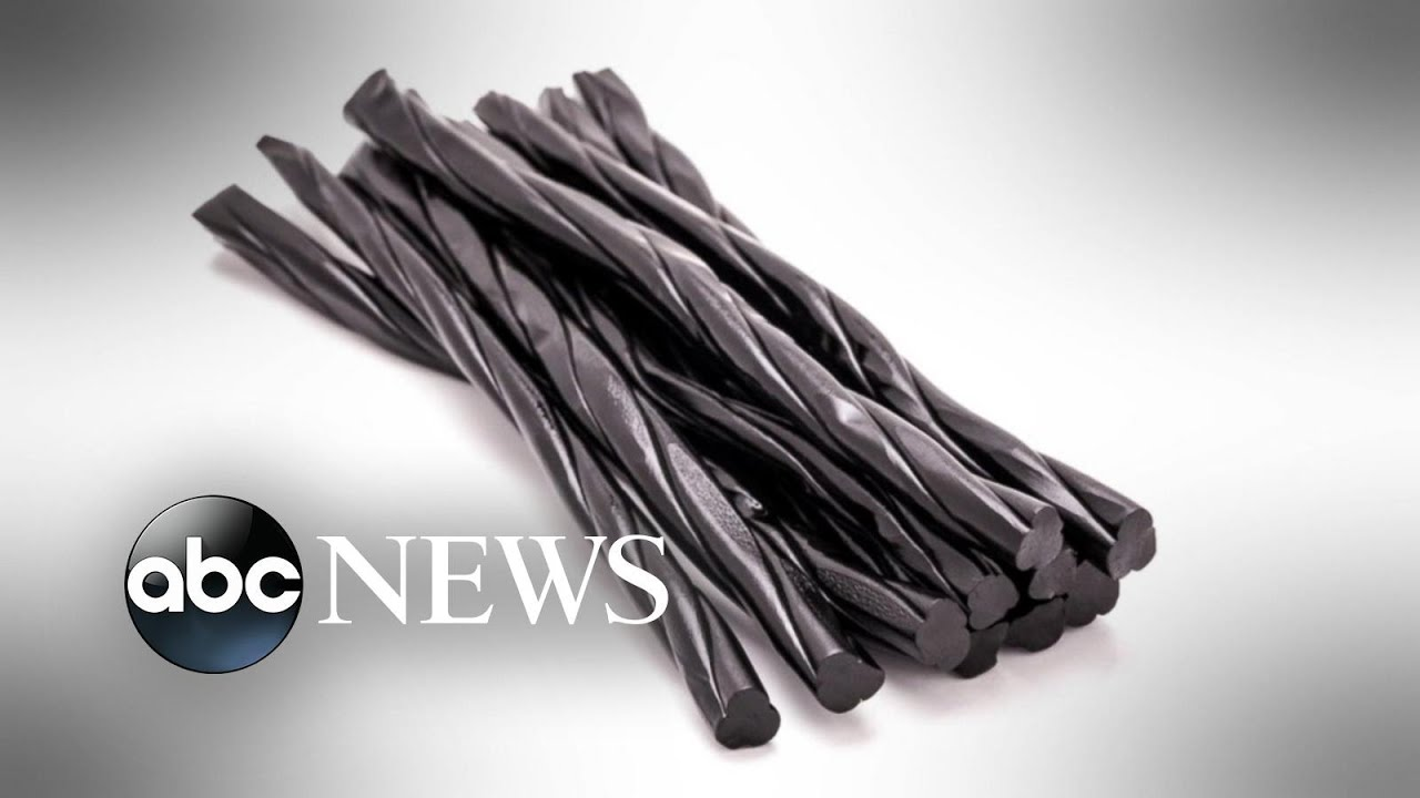 Construction worker dies after eating black licorice