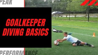 Goalkeeper Training: Basics on How to Dive