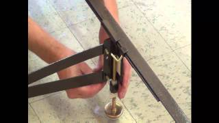 How To Assemble The Gs-3 Xs Center Bed Support
