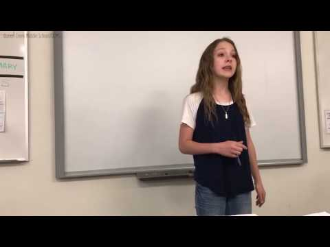 Student's viral poem asks 'Why am I not good enough?'
