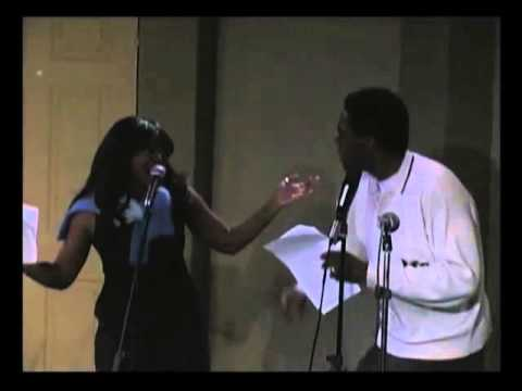 """""""Ain't No Mountain High Enough"""" Best Live Marvin & Tammi Cover Ever!"""