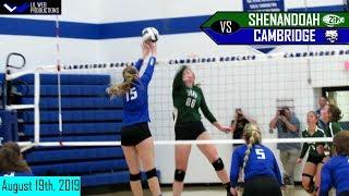 Cambridge vs Shenandoah [Volleyball Highlight] 8/19/2019