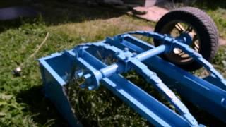 Делаем прицеп для квадроцикла(Квадроцикл CF MOTO 500 basic., 2014-07-22T07:55:45.000Z)