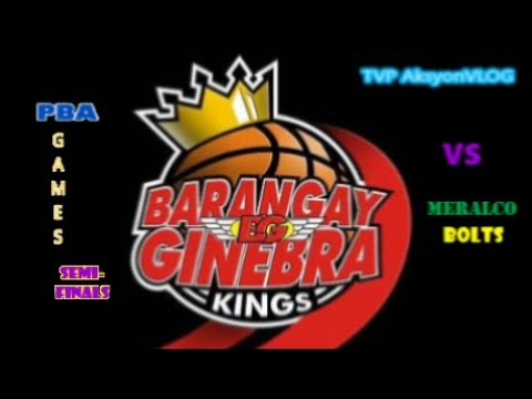 Pba Live Score Ginebra Vs Meralco Semi Finals Game 1 Today November 18 2020 Youtube