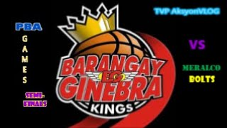 PBA Live Score Ginebra Vs Meralco Semi Finals Game 1 today November 18 2020